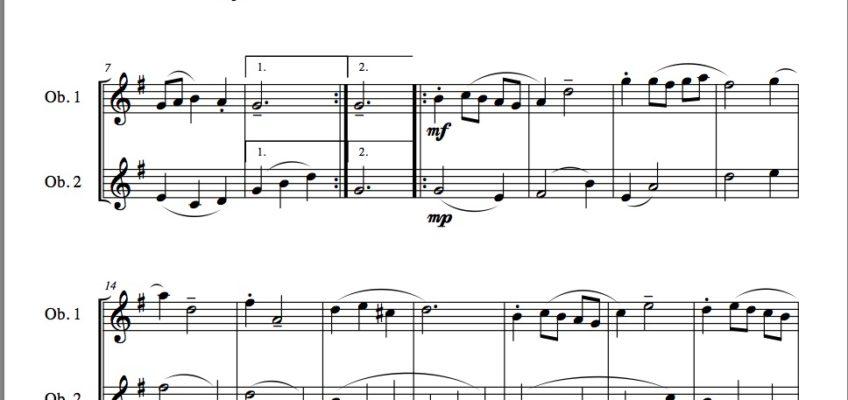 Oboe Music – Page 2 – JDW Sheet Music
